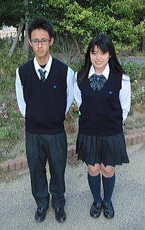立花高等学校制服画像